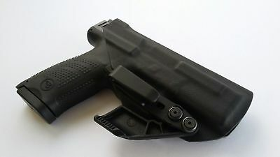 IWB / AIWB Kydex Holster w/ RCS Claw Appendix Adjustable Cant Tuckable Overhook