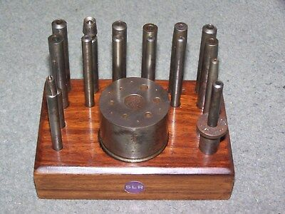 Watchmakers 17 Piece Slr Staking Set Tool