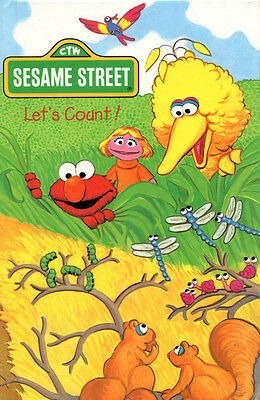Sesame Street Let's Count Personalized Children's Book By SoniaMcD