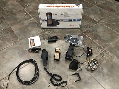 Globalstar GSP-1700 Mobile Satellite Phone With GIK-1700 Hands Free Kit
