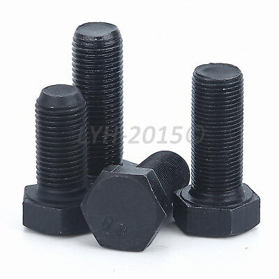 Grade 8 Fine Pitch Threaded Hexagon Head Cap Set Screws Hex Bolts M8 M10 M12