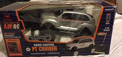 Chrysler Pt Cruiser Radio Remote Control Car By New Bright Silver