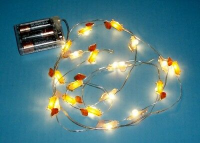 Dachshund / Hot Dogs Indoor Battery Fairy String Lights