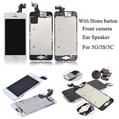 LCD Complete For iPhone 5s·SE·5 LCD Touch Screen Replacement Digitizer + Button
