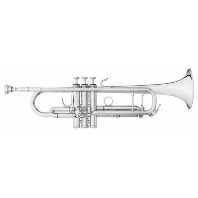 B&S Challenger 2 Bb Professional Trumpet (Silver) - 3137/2S
