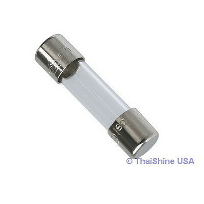 10 x Fuse Glass Fast Acting 1.5A 250V 6x30mm - USA Seller - Free Shipping