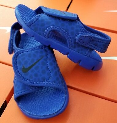 finest selection 042a4 df315 Nike Sunray Adjust 4 Sandal (Td) Toddlers Game Royal obsidian 386519 414