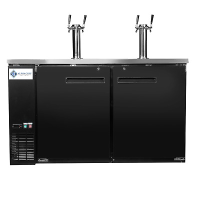 A.C.E. Beer Dispenser / Kegerator, 60-Inch Wide, Double Tower (2 taps per Tower)