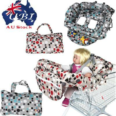 Baby Kid Care Shopping Trolley Cart Seat Pad High Chair Cover Printing Cushion