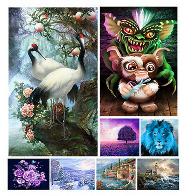 DIY 5D Diamond Painting Full Drill Embroidery Cross Crafts Stitch Kit Home Decor