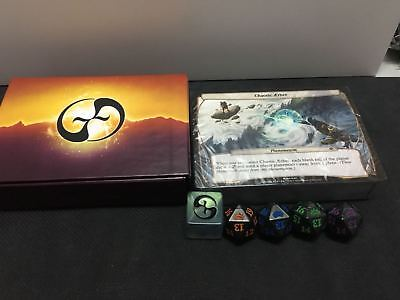 MTG Planechase Anthology Oversized Planar Plane 86 Complete Set WIth Dices x1