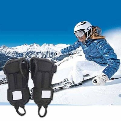 1 Pair Adjustable Snowboard Ski Protective Glove Wrist Support Guard Pads Hot