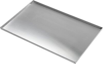 Commercial Stainless Steel 4 Sided Solid Baking Sheet Multipurpose Tray 40 x 30