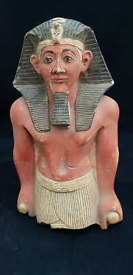 RARE ANCIENT EGYPTIAN ANTIQUE Thutmose III Pharaoh 18th Dynasty 1481 - 1425 BC