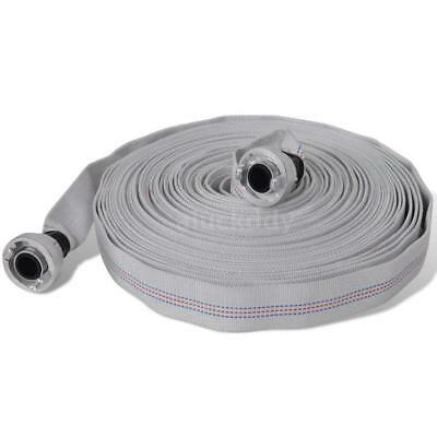 Fire Hose Flat Hose 20 m with D-Storz Couplings 1 Inch T3N6