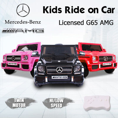 2018 Electric Kids Ride On Car Licensed Mercedes-Benz AMG G65 Toy Remote Battery