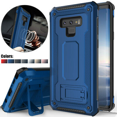 For Samsung Galaxy Note 9 Shockproof Kickstand Armor Rugged Hybrid Case Cover