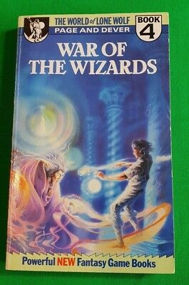 War of the Wizards ***RARE!!*** World of Lone Wolf Joe Dever Ian Page Beaver #1
