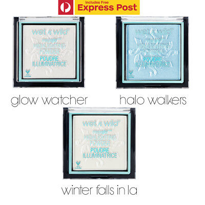 Wet N Wild Beauty Fire And Ice Collection Megaglo Highlighters Powder - Ltd Ed