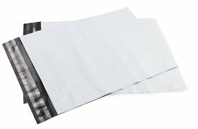 White Strong Mailing Bags Plastic Postal Mail Postage Poly 100 500 1000