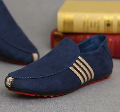 New Mens Canvas Deck Boat shoes Comfort Casual Loafers Moccasins Slip on Driving