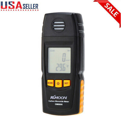 Handheld Carbon Monoxide Meter CO Gas Tester 0-1000ppm Monitor Detector US Stock