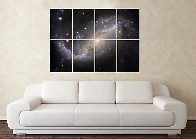 Large Milky Way Galaxy Solar System Planets NASA Wall Poster Art Picture Print