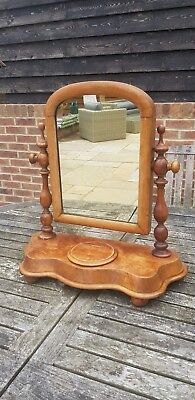 Pretty Victorian style dressing table mirror