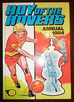 Roy of the Rovers Annual 1984 Vintage Football Comicstrip Comic Book Collectable
