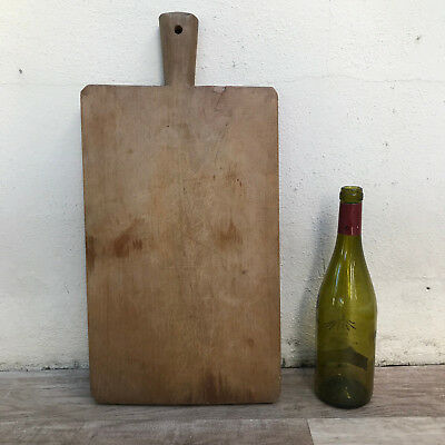 Antique Vintage French Bread Or Chopping Cutting Board Wood 2708185