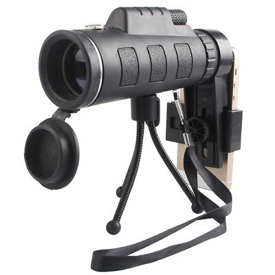 EP_ Day Night Vision 40x60 Optical Monocular Hunting Camping Hiking Telescope Be
