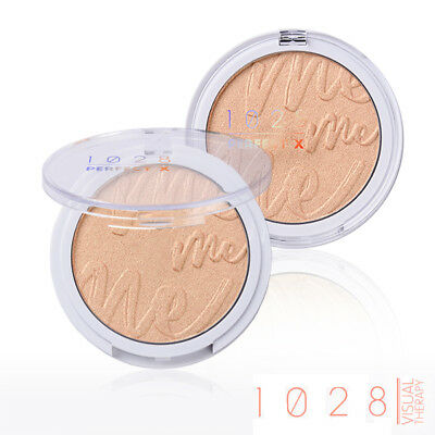 [1028 VISUAL THERAPY] Perfection Glow Highlighter 01 CORAL GOLD 8g LIMITED NEW