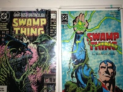 Swamp Thing #53, #58, #66, #79 (Oct 1986, DC) Arkham, Batman, Superman