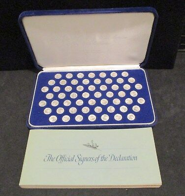 Signers of the Declaration Silver Mini-Coins                    ENN COINS