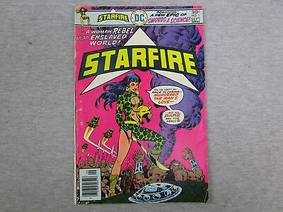 DC Starfire 1 Sept 1976 Comic Book 1st Issue