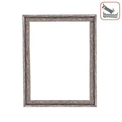 BarnwoodUSA Rustic Farmhouse Open Signature Picture Frame 100% Recycled Wood