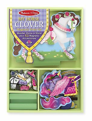 New Melissa and Doug My Horse Clover Magnetic Dress-Up Set #8591