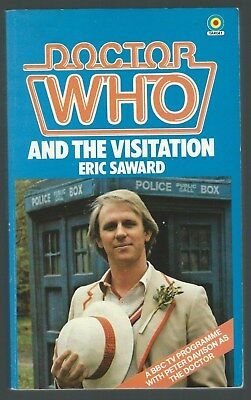 Doctor Who And The Visitation Eric Saward Target 1982 First Paperback Edition G-