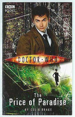 Doctor Who: The Price of Paradise Colin Brake BBC Paperback 2006 Variant Cover