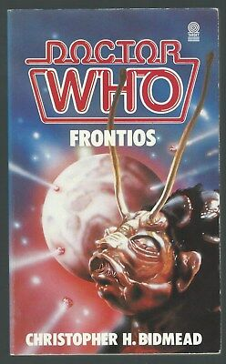Doctor Who Frontios Christopher H Bidmead Target 1985 Paperback Good Condition