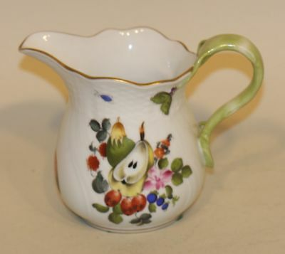 Herend Hungary Market Garden 4-1/4 Inch Creamer Cream Pitcher 1642