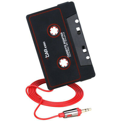 EP_ Audio AUX Car Cassette to MP3 CD MD Tape Adapter Converter For iPod Phones C