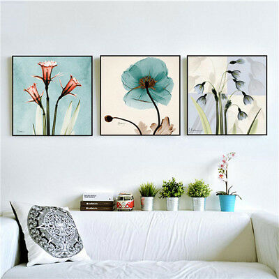 EP_ Wall Art Painting Poster Picture Flower Canvas Print  Bedroom Home Decor Del