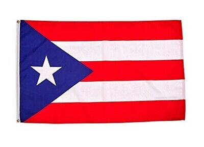 3'x5' Puerto Rico Flag w/ Grommets ~ Puerto Rican Banner Commonwealth Pennant