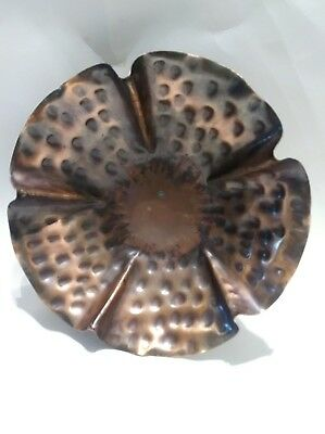 Arts And Crafts Handmade Craftsman Co Copper Bowl vintage 882