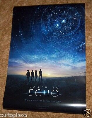 Earth To Echo Original Movie Poster, 27x40 Size, Fast Free Shipping Included