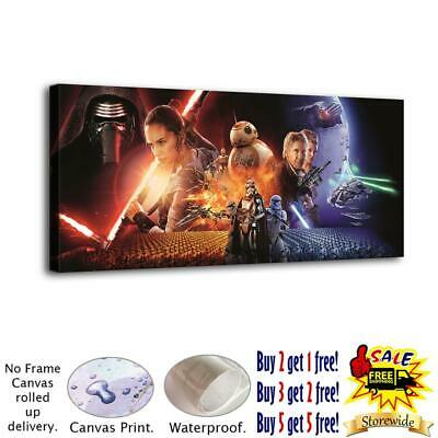 Star Wars The Force Awakens HD Print on Canvas Home Decor Room Wall Art Picture