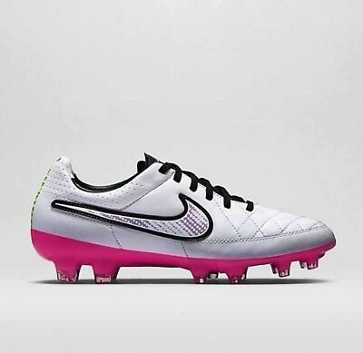 cc20c2654bb NEW Nike Womens Tiempo Legacy FG Soccer Cleats White  Pink 630547-163 Size 8