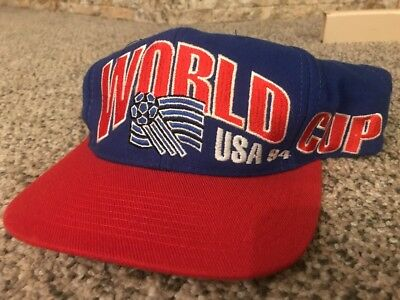 22cce3dc864 NWT VINTAGE APEX Mexico World Cup USA 94 1994 Soccer Snapback Hat ...