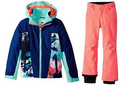 2fe393cd26c2 ROXY GIRLS SNOW Suit Ski Set Jetty Jacket   Creek Pants
